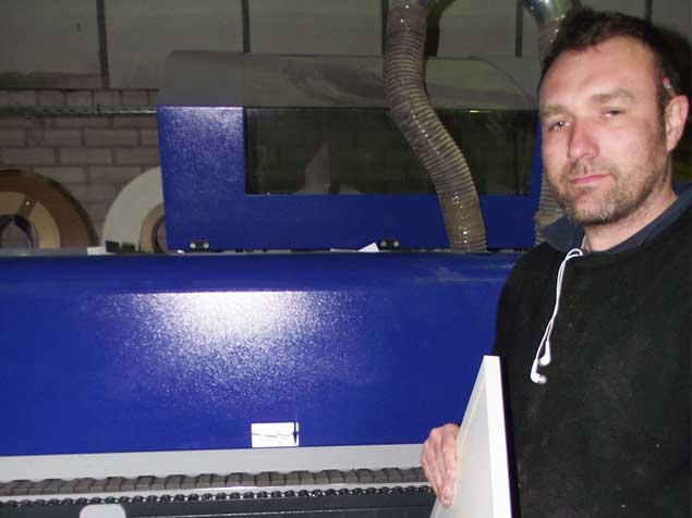 felder testimonial image - Peter Livesey, Small Wood Manufacturing